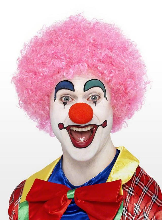Clown Pink Perücke